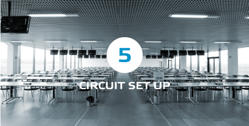 circuit set up