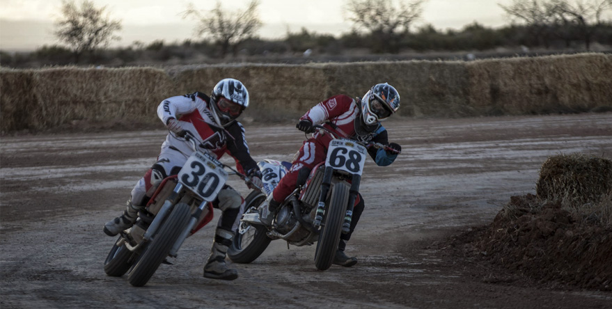 dirt-track & flat track